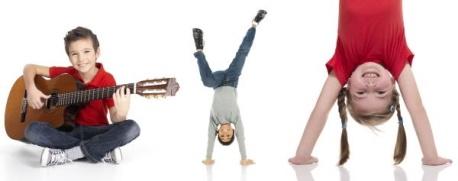 Gitarr och gymnastik
